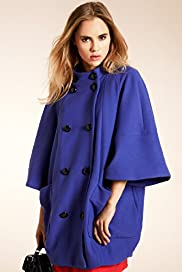 Limited Collection 3/4 Sleeve Stretch Cocoon Coat