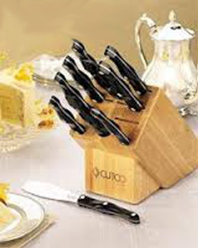 CUTCO Model 2001 Homemaker Set............10 High Carbon Stainless knives & forks with Classic Dark Brown (