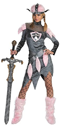 Disguise Womens Viking Barbarian Babe Theme Party Fancy Halloween Costume