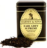 Earl Grey Supreme Tea, Loose Tea in 4 Ounce Tin