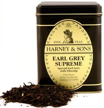 Earl Grey Supreme Tea, Loose Tea in 4 Ounce Tin