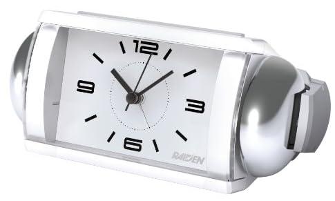 RAIDEN (ライデン) 目覚まし時計 クオーツ 大音量ベル音 NQ709W