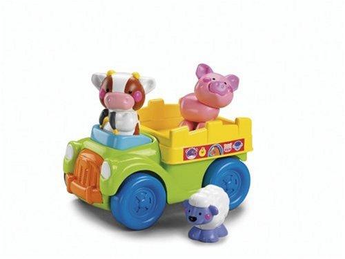 Imagen 3 de Fisher-Price - Push And Go camiones Granja (Mattel)