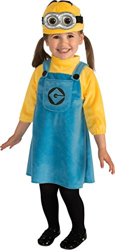 TeeShirtPalace Female Minion Kids Costume