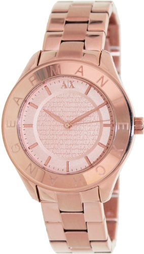 d06cc10003d3 Armani Exchange Rose Gold tone Stainless Steel Ladies Watch AX5160 ...