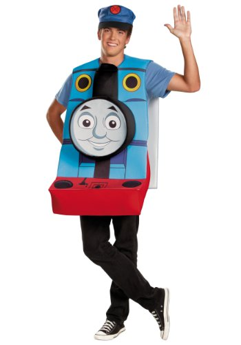 Disguise Mens Classic Thomas The Tank Engine Theme Party Costume