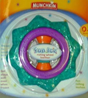 Fun Ice Rolling Wheel Teether front-564045