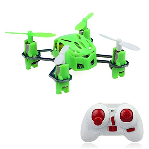 Towallmark(Tm)Lian Sheng Ls-111 2.4G Mini Rc 4Ch 6 Axis Gyro Led Quadcopter Airplane Green