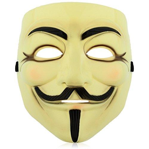1 pcs (Anonymous Mask Costume Ideas)
