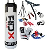 Authentic RDX 13PC Professional Boxing Set Punch Bag 4FT/5FT,Gloves,Bracket MMA AB