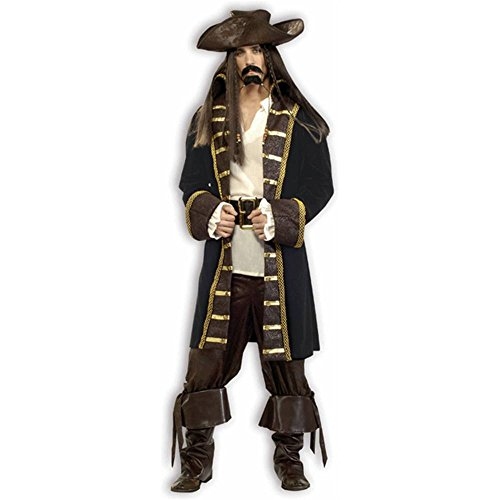 Super Deluxe High Seas Pirate Costume
