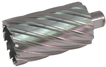 "Jancy Slugger High Speed Steel Annular Cutter, Uncoated (Bright) Finish, 3/4"" Annular Shank, 3"" Depth"