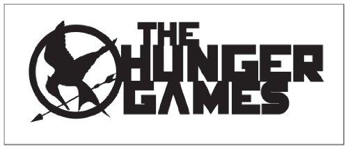 Hunger Games Design 2 Sticker Decal Black