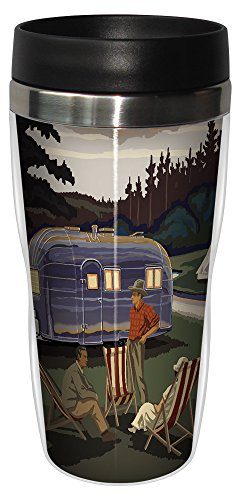 Airstream Camping Hot Or Cold Beverage Sip 'N Go Travel Mug, 16-Ounce made our list of camping gifts couples will love and great gifts for couples who camp
