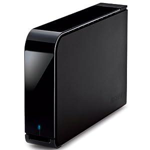 【クリックで詳細表示】BUFFALO USB3.0用 外付けHDD ITB ブラック HD-LB1.0TU3-BKD: パソコン・周辺機器