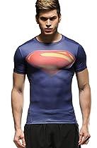 Cody Lundin Men's Movie Theme Hero Short Sleeve Tights T-shirt