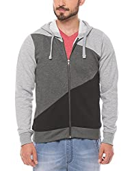 Prym Men's Cotton SweatShirt (8907423023765_2011520301_Small_Grey)