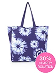 Fashion Targets Pure Cotton Tie Dye Bag
