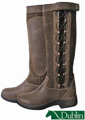 Dublin Ladies Pinnacle Boots 8 Chocolate