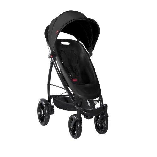 phil&teds Smart Compact Stroller, Black - 1