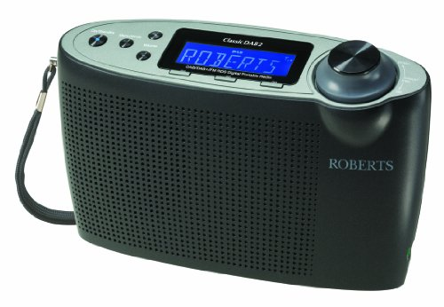 Roberts Classic DAB2 DAB/DAB+/FM Digital Radio with Simple Presets - Black