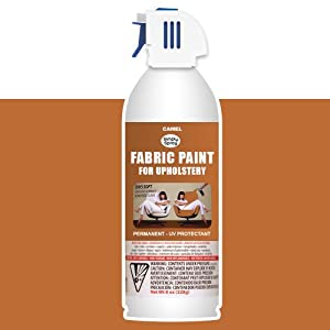 simply spray upholstery fabric spray paint 8 oz can camel amazon. Black Bedroom Furniture Sets. Home Design Ideas