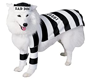 Rubies Costume Halloween Classics Collection Pet Costume, Prisoner, Small