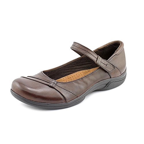 Earth Origins Donna Womens Size 9 Brown Leather Mary Janes Shoes
