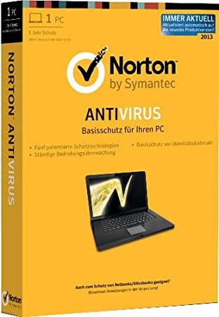 Norton Antivirus 2013 - 1PC