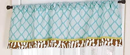 In the Jungle Window Valance by Cocalo