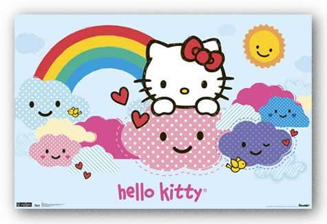 Hello Kitty - Clouds 22