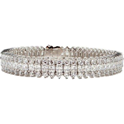 bling by wilkening st croix tennis bracelet silver