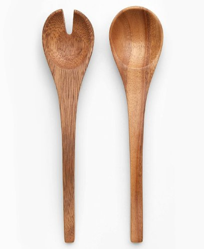 Noritake Kona Wood Salad Servers
