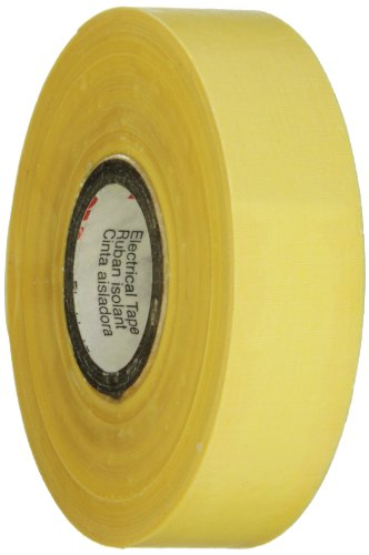 "Scotch Electrical Insulating Varnished Cambric Tape 2510, 3/4"" Width, 60 Foot Length (Pack Of 1)"
