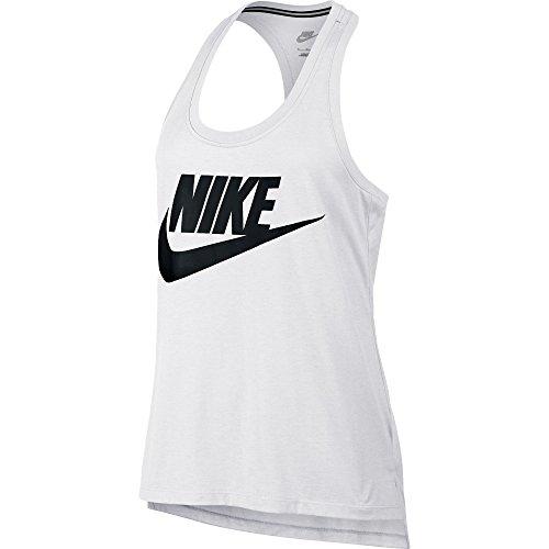 Nike Signal Logo Women's Tanktop White/Black 830391-100 (Size L)