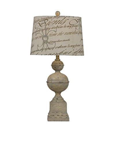 Bassett Mirror Co. Ballenger Table Lamp, Grey Stone