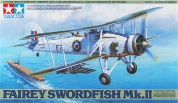 Fairey Swordfish Mk II Spotter/Torpedo Bomber 1/48 Tamiya