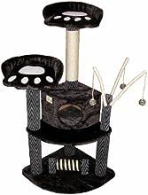 Go Pet Club F19 50-Inch Cat Tree Condo Furniture, Black