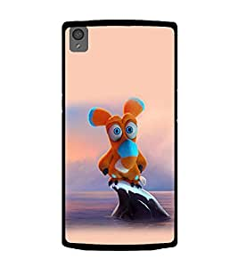 Printtech One Plus X Back Cover Soft Toy Cartoon Print Case