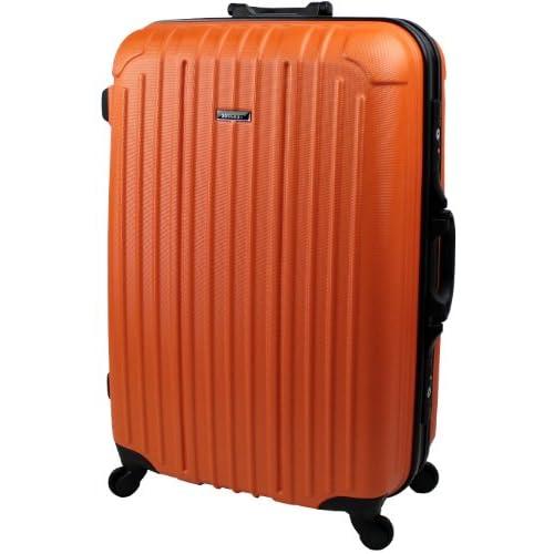 スーツケース 大型 【 ブラックフレーム TSAロック搭載 バベル2013 Lサイズ 】【SUCCESS サクセス】 (大型77㎝, オレンジ)