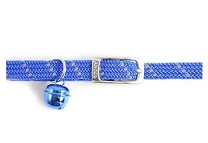 Reflective all-elastic Cat Collar Blue