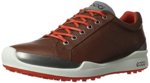 ECCO Men's Biom Hybrid Golf Shoe,Mahogany/Fire,47 EU/13-13.5 M US (Ecco Golf Shoes 47 compare prices)