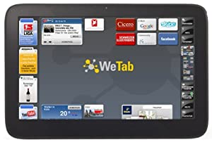 WeTab 3G 29,5 cm (11,6 Zoll) Tablet-PC 32GB (UMTS, Bluetooth 2.1 + EDR, Wi-Fi, GPS)