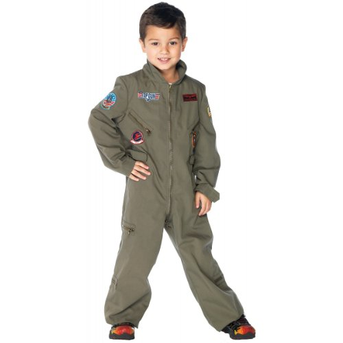 Leg Avenue 199022 Top Gun- Flight Suit Toddler- Child Costume