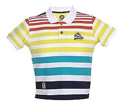 Vitamins Boys' T-Shirt (08B-516-8-White_White_8 - 9 Years)