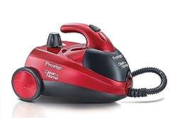 Prestige Clean Home Series Dynamo Steam Cleaner (Red)
