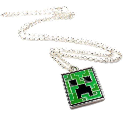 Jinx Minecraft Creeper Pendant Necklace