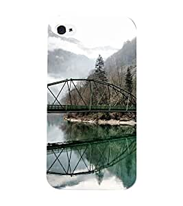 Mental Mind 3D Printed Plastic Back Cover For Iphone 4s - 3DIP4S-G836