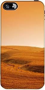Snoogg Desert Background Designer Case Cover For Apple Iphone 4 / 4S