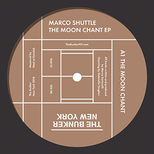 Vinilo : Marco Shuttle - The Moon Chant (Extended Play)